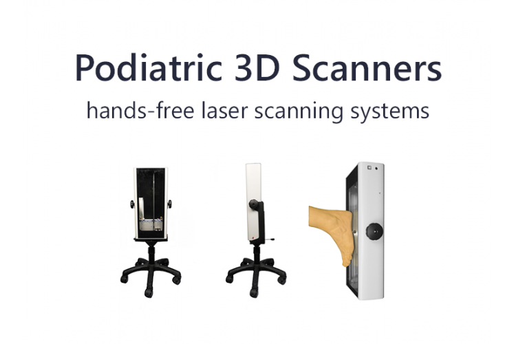 Podiatric 3D Scanners