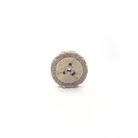 Hessian Rope Buffer Wheel - 50mm/10mm
