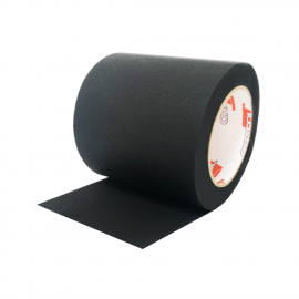 Microfibre Leather Black (50m)